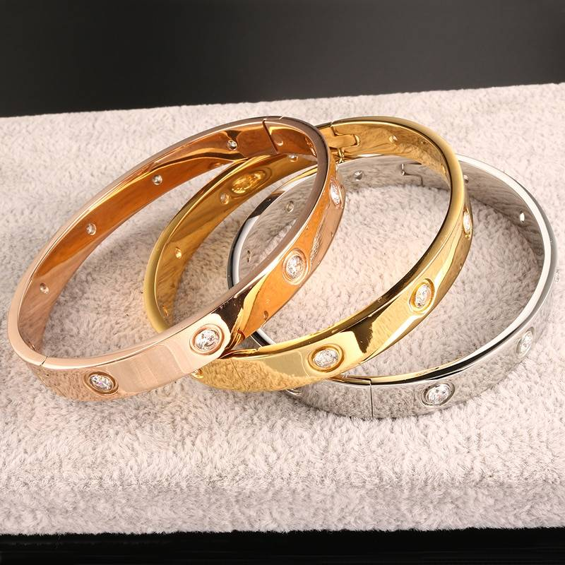 WHITNEY – Couple's Stainless Steel Crystal Cuff Bangle Bangles 8d255f28538fbae46aeae7: 6mm gold color|6mm rose gold color|6mm silver color|8mm gold color|8mm rose gold color|8mm silver color