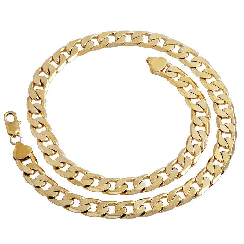 JAVIER – Men's Gold Twisted Anchor Chain Necklace Men Necklaces Necklaces