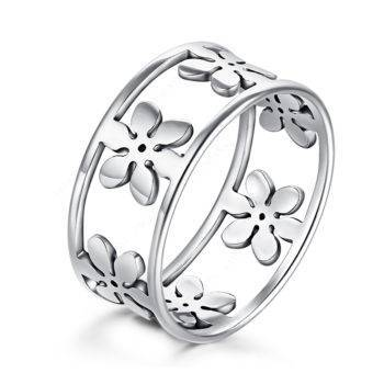 DANIELA – Stainless Steel Floral Ring Rings 2ced06a52b7c24e002d45d: 10|11|6|7|8|9