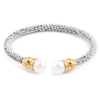 ZOREN – Stainless Steel Imitation Pearl Bangle Bangles 8d255f28538fbae46aeae7: 81131