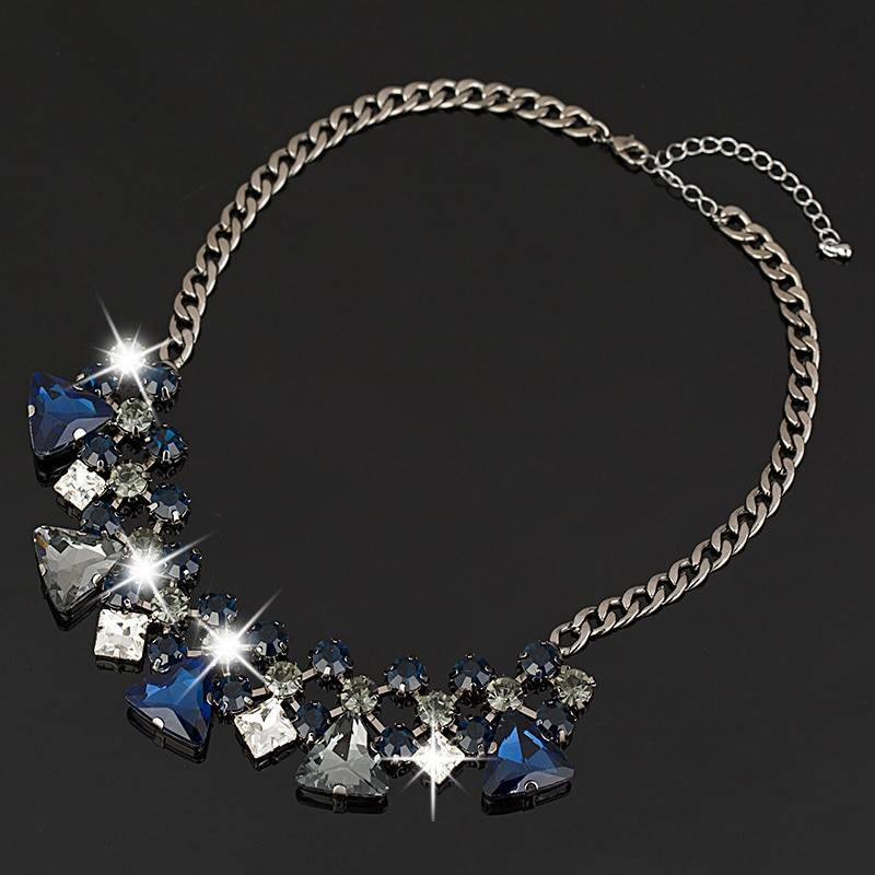 ZAINAB – Semi Precious Stones Statement Necklace Clearance 8d255f28538fbae46aeae7: As shown in figure