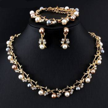 PRECIOUS – Pearl Decorated Necklace and Earrings Jewellery Set Clearance a1fa27779242b4902f7ae3: 1|10|2|3|4|5|6|7|8|9
