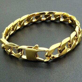 KHLOE – Gold Stainless Steel Women's Bracelet Bracelets 32954654ac8fe66a1d09be: 0.6 cm / 0.24 inch|0.8 cm / 0.31 inch|1.2 cm / 0.47 inch