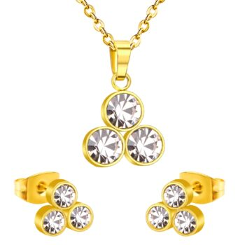 MAE – Stainless Steel CZ Crystal Jewellery Set Jewellery Sets Necklaces 8d255f28538fbae46aeae7: 1|10|2|3|4|5|6|7|8|9