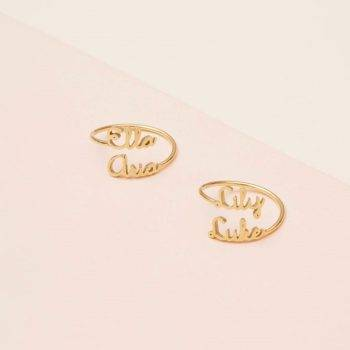 MOSUN – Double Name Personalised Ring Rings 2ced06a52b7c24e002d45d: Resizable