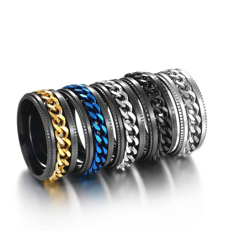 Men's Stainless Steel Ring 2ced06a52b7c24e002d45d: 10 11 12 13 6 7 8 9