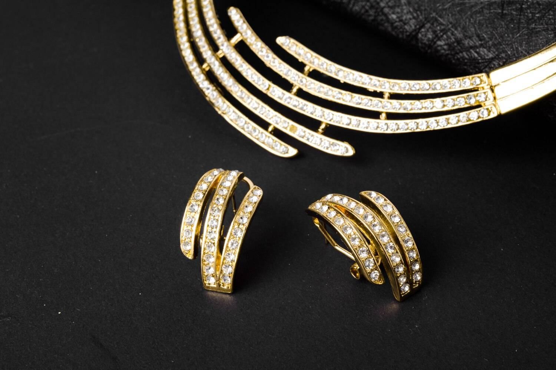 Bridal Wedding Zirconia Earrings Necklace Bracelet for Women Jewellery Sets Wedding Jewellery Set 8d255f28538fbae46aeae7: Jewelry Sets